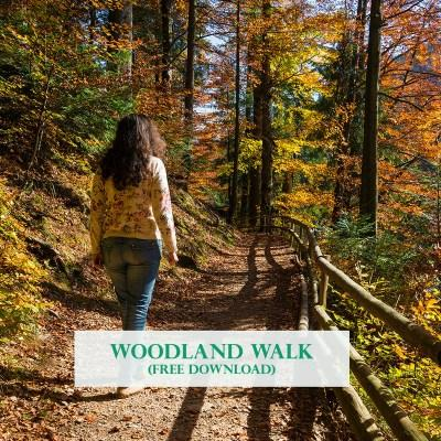 Woodland walk for site
